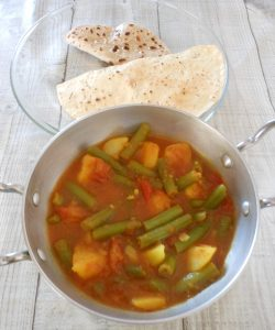 Sperziebonencurry