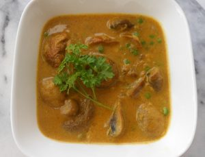 Champignons-curry