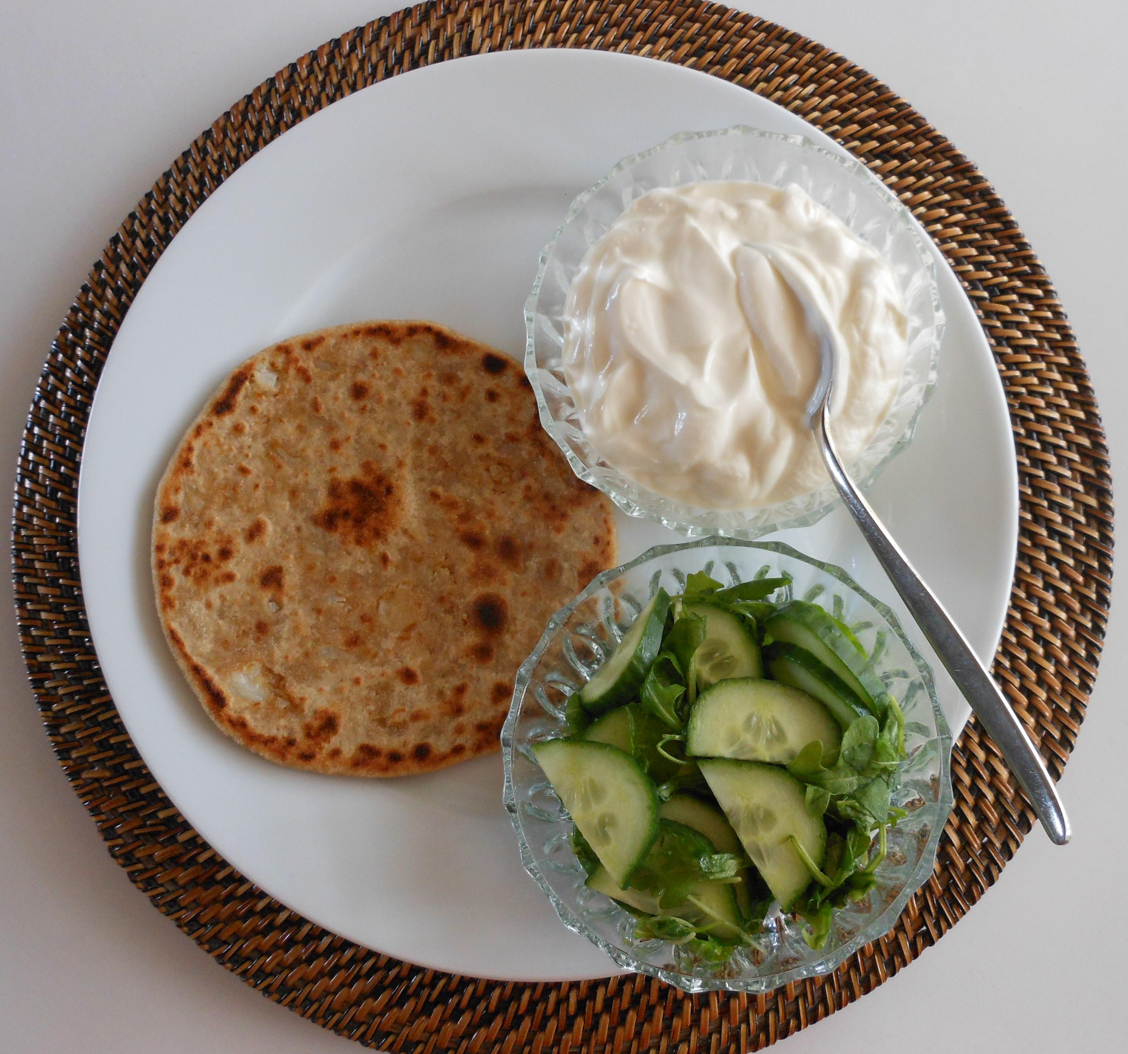 Paratha (gevulde roti)