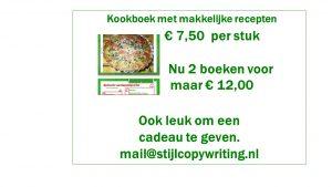 Vega kookboek met makkelijke recepten