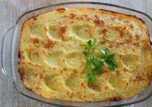 Zuurkool Shephard pie style