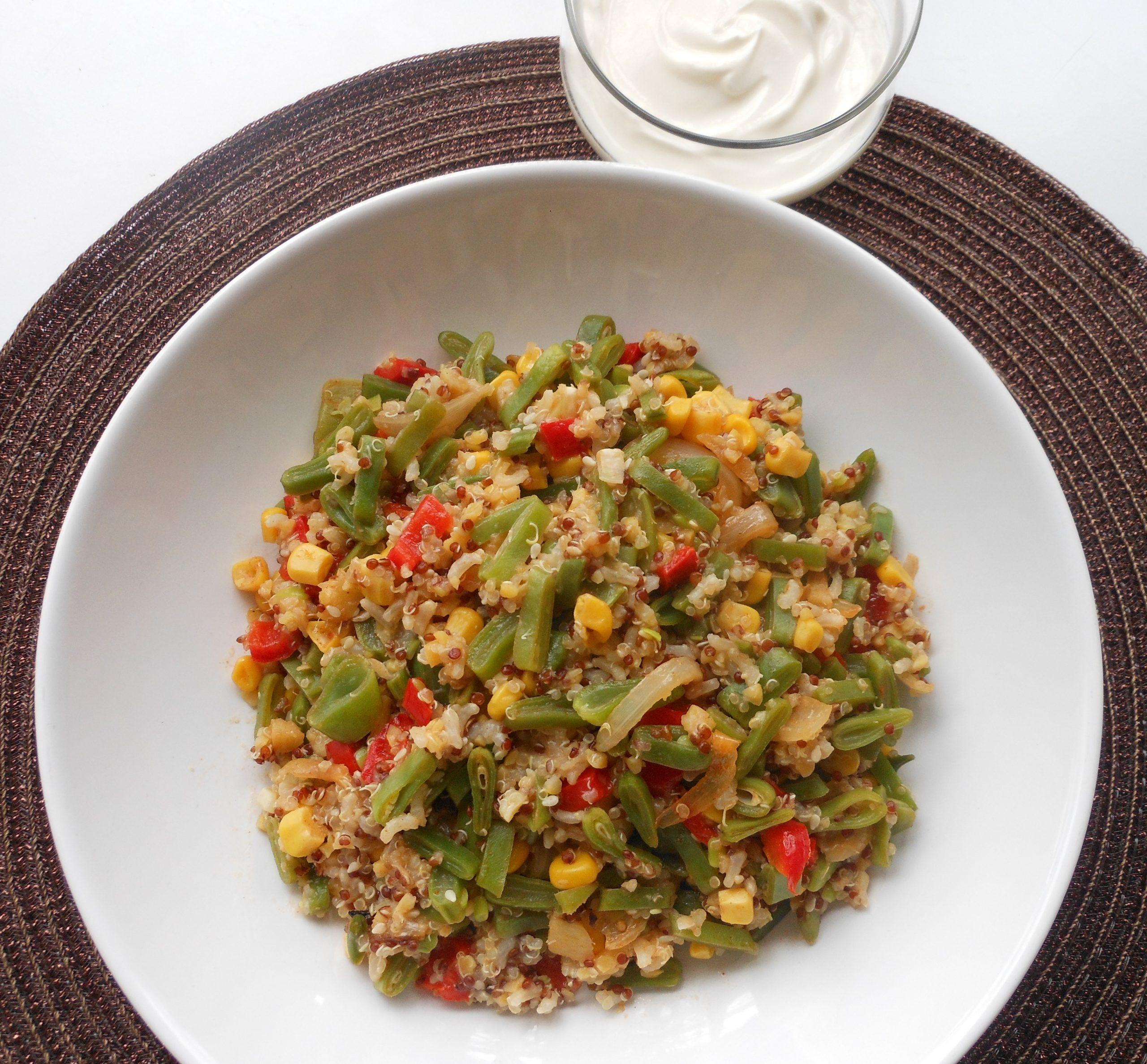 Quinoa pilav