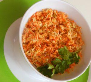 Wortel-spitskoolsalade