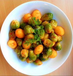 Smakelijke spruitjes