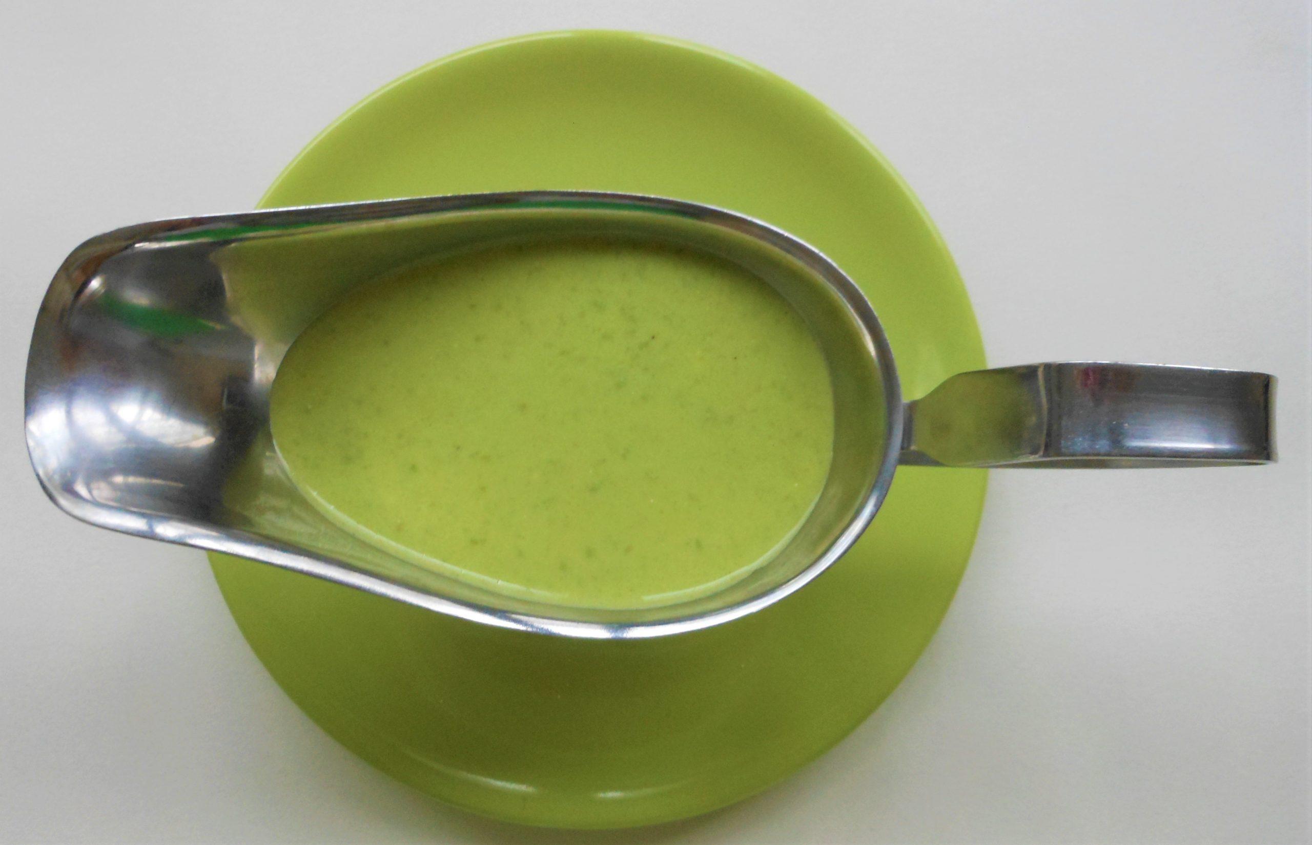 Gezonde groene saus