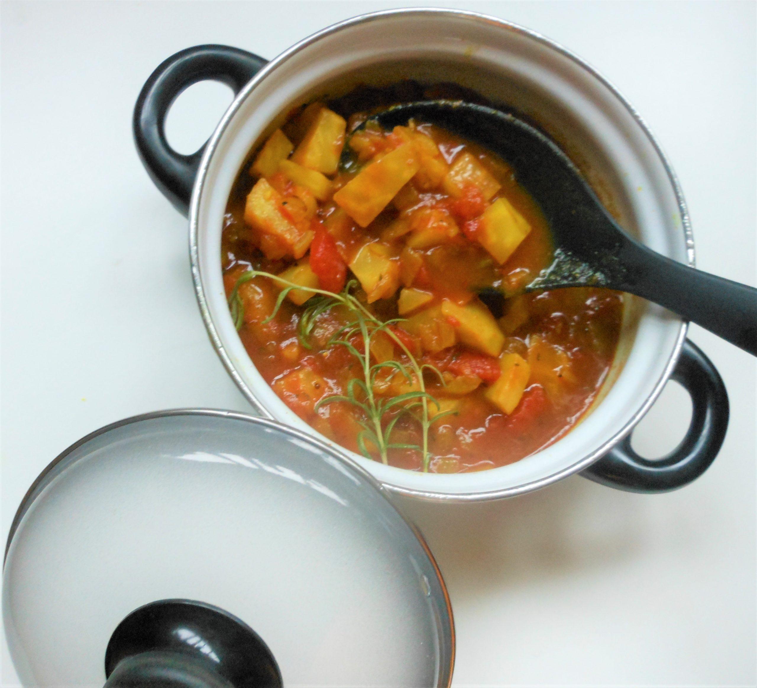 Knolselderij curry