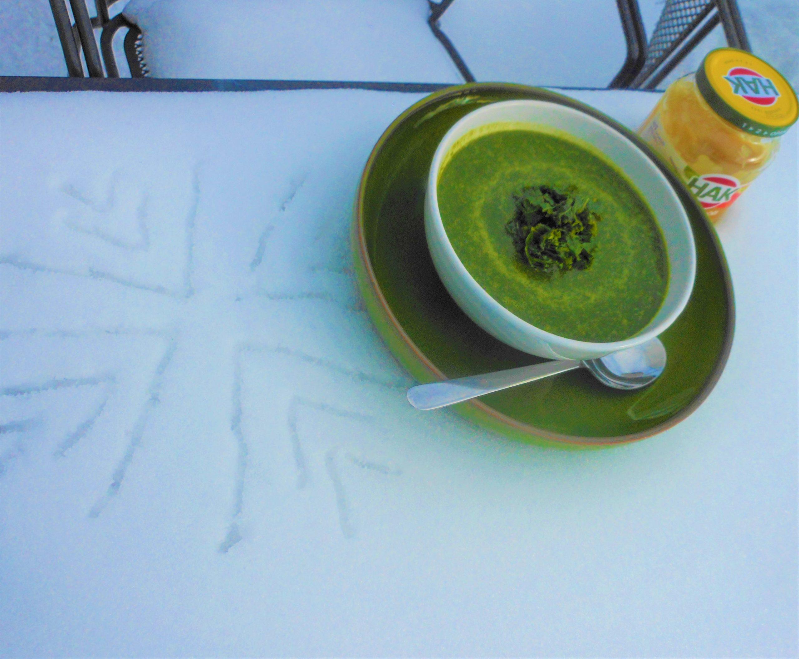 Snelle winterse soep
